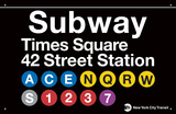 Subway Times Square-42 Street Station
