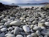 Stony Beach on Knoydart Peninsula, Western Scotland
