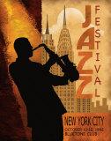 Jazz in New York, 1962 Art Print