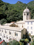 Buy Benedictine Abbey of San Fruttuosa, Headland of Portofino, Liguria, Italy at AllPosters.com
