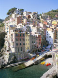 Buy Village of Riomaggiore, Cinque Terre, Unesco World Heritage Site, Liguria, Italy at AllPosters.com