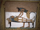 Tomb of Sennedjem, Deir El Medina, Thebes, Unesco World Heritage Site, Egypt, North Africa, Africa