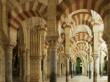 Interior of the Great Mosque, Unesco World Heritage Site, Cordoba, Andalucia, Spain