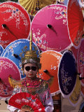 Boy in Shan Costume at Handicraft Festival, Chiang Mai, Thailand, Southeast Asia