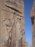 Detail, Persepolis, Unesco World Heritage Site, Iran, Middle East