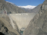 The Karaj Dam, Iran, Middle East