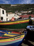 Fishing Boats, Camara De Lobos, Madeira, Portugal