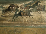 Wall Paintings, Pompeii, Unesco World Heritage Site, Campania, Italy