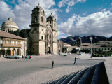 Early 17th Century Cathedral, Cuzco, Unesco World Heritage Site, Peru, South America