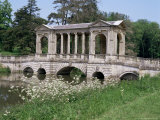 The Palladian Bridge, Stowe, Buckinghamshire, England, United Kingdom