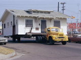 Pick-Up Truck Moving House, California, USA