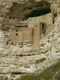 Pueblo Indian Montezuma Castle Dating from 1100-1400 AD, Sinagua, Arizona, USA