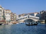 Buy Rialto Bridge, Venice, Unesco World Heritage Site, Veneto, Italy at AllPosters.com
