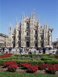 Buy Piazza Del Duomo, Milan, Italy at AllPosters.com