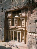 The Treasury (Khaznat Far'Oun), Dating from the 1st Century Bc, at End of Siq, Petra