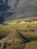 Debirichwa Village in Early Morning, Simien Mountains National Park, Ethiopia