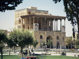 Palace of Ali Ghapu, Esfahan, Iran, Middle East
