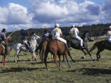 The Geeburg Polo Match, Bushmen Versus Melbourne Polo Club, Australia