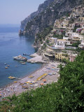 Buy Positano, Costiera Amalfitana, Unesco World Heritage Site, Campania, Italy at AllPosters.com