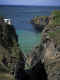 Carrick-A-Rede Rope Bridge, County Antrim, Northern Ireland, United Kingdom