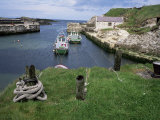 Ballintoy Harbour, County Antrim, Ulster, Northern Ireland, United Kingdom