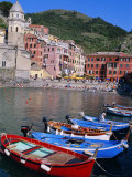 Vernazza, Cinque Terre, Unesco World Heritage Site, Italian Riviera, Liguria, Italy