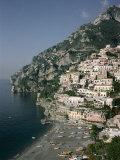 Buy Positano, Costiera Amalfitana (Amalfi Coast), Unesco World Heritage Site, Campania, Italy at AllPosters.com