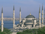 The Blue Mosque (Sultan Ahmet Mosque), Istanbul, Marmara Province, Turkey