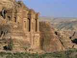 El Deir, Nabatean Archaeological Site, Petra, Unesco World Heritage Site, Jordan