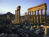 Archaeological Site, Palmyra, Unesco World Heritage Site, Syria, Middle East