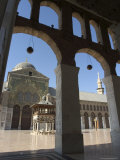 Umayyad Mosque, Unesco World Heritage Site, Damascus, Syria, Middle East