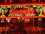 Coffeeshop, Rembrandtsplein, Amsterdam, the Netherlands (Holland)
