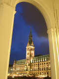 Hamburg City Hall in the Altstadt (Old Town), Hamburg, Germany