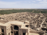 Abandoned Town from Citadel, Bam, Iran, Middle East