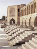 Khaju Bridge, Isfahan, Iran, Middle East