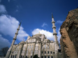 The Blue Mosque (Sultan Ahmet Mosque), Unesco World Heritage Site, Istanbul, Turkey