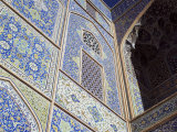 Detail of Tilework, Masjid-E Imam, Formerly the Shah Mosque, Isfahan, Iran