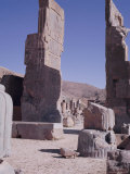 Ruins, Persepolis, Unesco World Heritage Site, Iran, Middle East