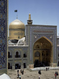 Shrine of Immam Riza, Mashad, Iran, Middle East