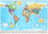 World Map 2012 Giant Poster