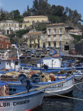 Buy Fishing Village of Santa Maria La Scala, Sicily, Italy, Mediterranean at AllPosters.com