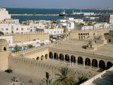 View from Ribat of the Medina, Sousse, Unesco World Heritage Site, Tunisia, North Africa, Africa