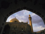 Hussein's Mosque, Karbala (Kerbela), Iraq, Middle East