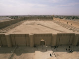 Al Malwuaiya Court, Samarra, Iraq, Middle East