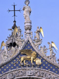 Buy Detail of St. Mark's Basilica, Piazza San Marco (St. Mark's Square), Venice, Veneto, Italy at AllPosters.com