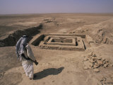 Anu Temple, Uruk, Iraq, Middle East