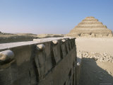 The Step Pyramid of Zoser, Saqqara (Sakkara), Unesco World Heritage Site, Egypt