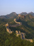 The Great Wall, Near Jing Hang Ling, Unesco World Heritage Site, Beijing, China