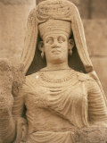 Statue of Abu Bint Deimun, Hatra, Unesco World Heritage Site, Iraq, Middle East
