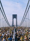 Runners, Marathon, New York, New York State, USA